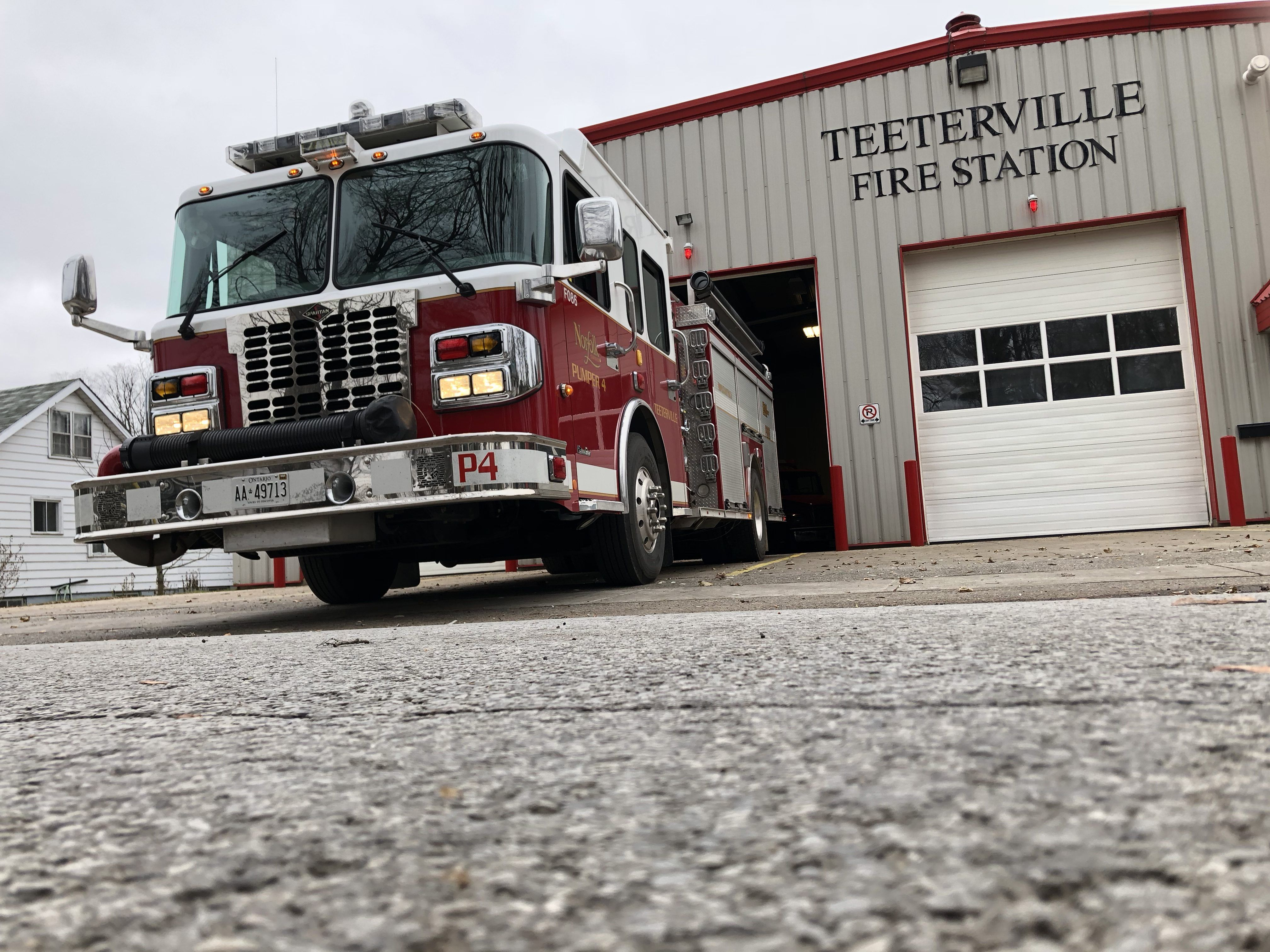 Station 4 Fire Trucks