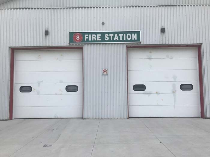 Station 8 Fire Truck